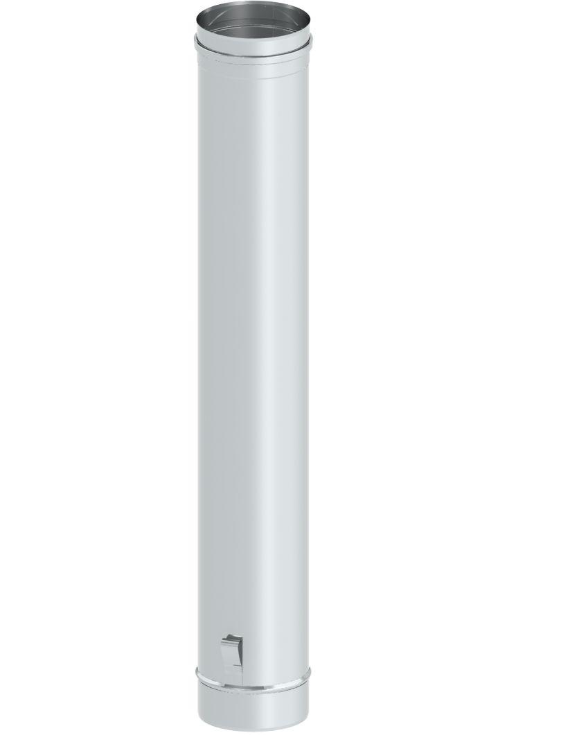 Rura 1 m z uchwytami montażowymi