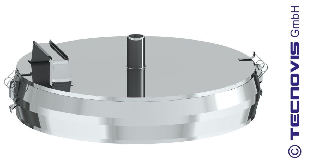 Naczynie na sadzę z miską na kondensat 100 mm