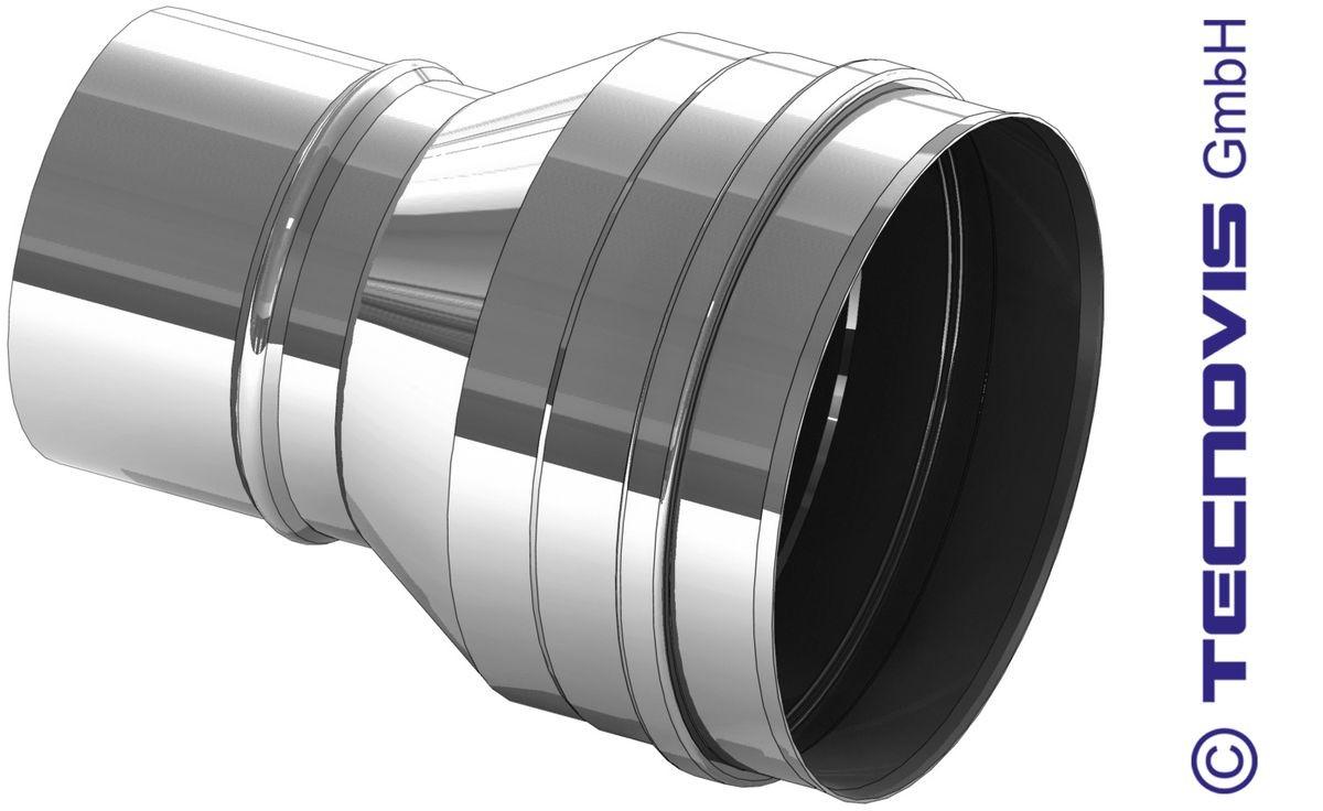 Element rozszerzający ze stali nierdzewnej 130 na 150 mm