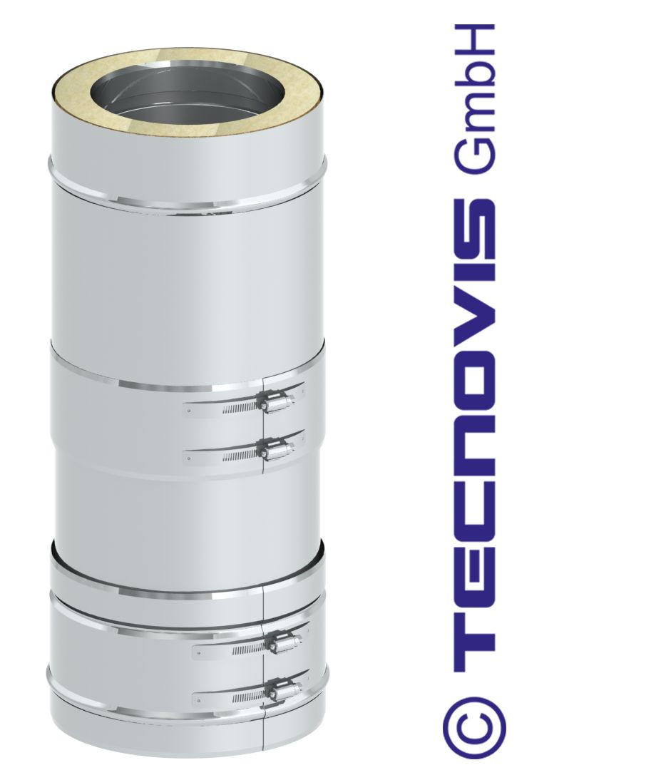 Rura teleskopowa 26-42 cm z obejmą zaciskową