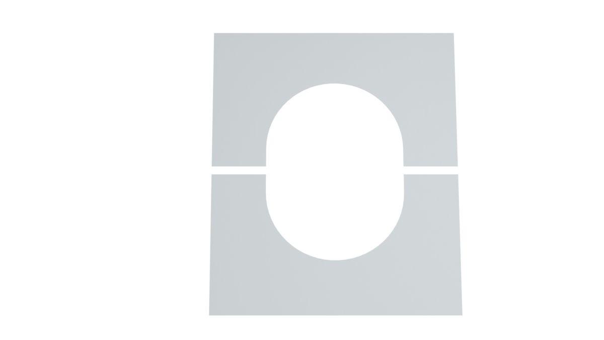 Osłona przejścia przez strop/ścianę 0°-30°
