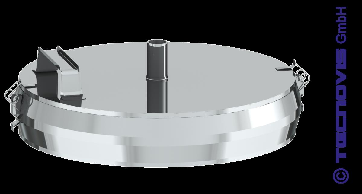 Naczynie na sadzę z miską na kondensat
