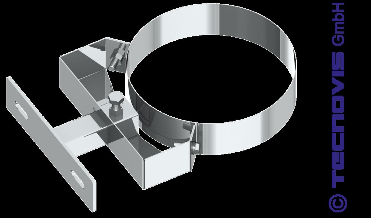 Wspornik ścienny przestawny 5 - 15 cm