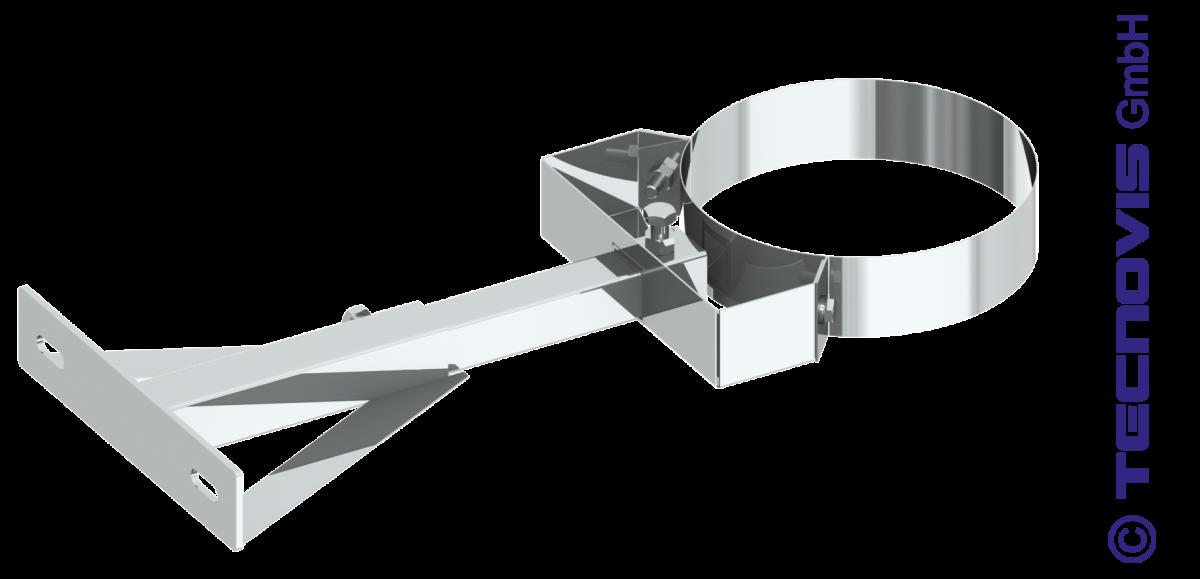 Wspornik ścienny przestawny 25 - 35 cm