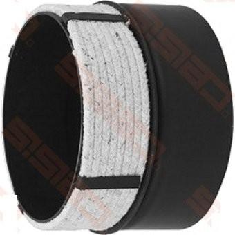 Złączka ferro - rura ceramiczna 180/180 mm