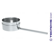 Miska na kondensat z rurką odpływową o dł. 25 cm